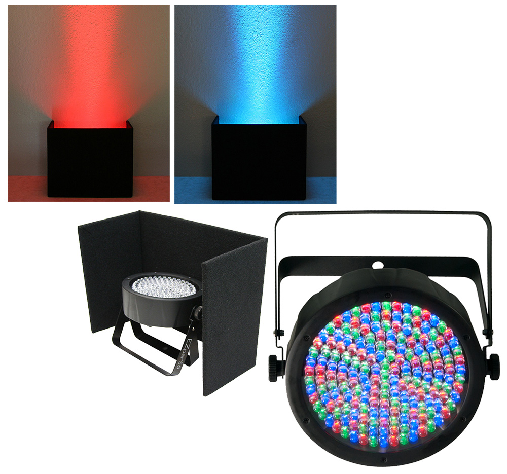 Chauvet DJ Lighting Slimpar 64 Compact RGB LED Uplighting Wash & Up Light Cover