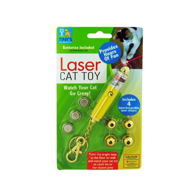 Bulk Buys DI258-80 Laser Light Key Chain Toy For Cats