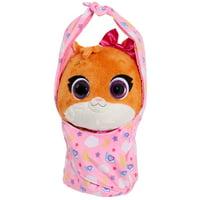 T.O.T.S. Cuddle & Wrap Plush, Mia the Kitten, Ages 3+