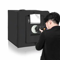 "Akoyovwerve Kshioe 40cm 16"" x 16"" Portable Photo Studio Box Adjustable Assembling"