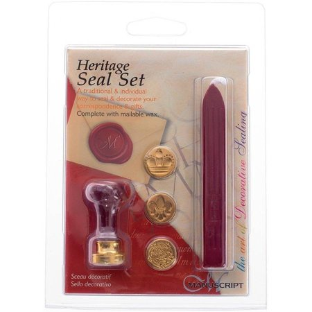 - Manuscript 3 Coin Seal Set, Heritage
