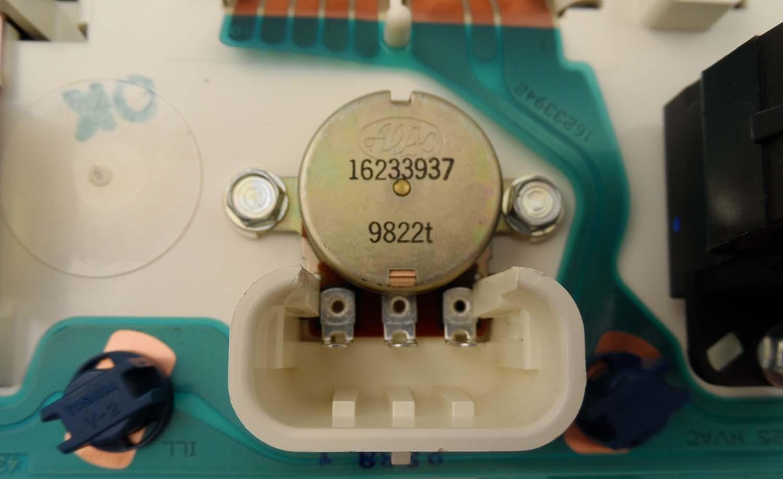 New OEM Heater /& A//C Control Switch 98-2004  Blazer S10 Sonoma Jimmy 15-72458