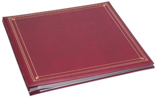 pioneer photo albums mp46bu full size album 4x6 6page 300 photo burgundy - 4x6 Photo Albums