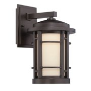 Designers Fountain-Barrister - 9 13W LED Wall Lantern  Burnished