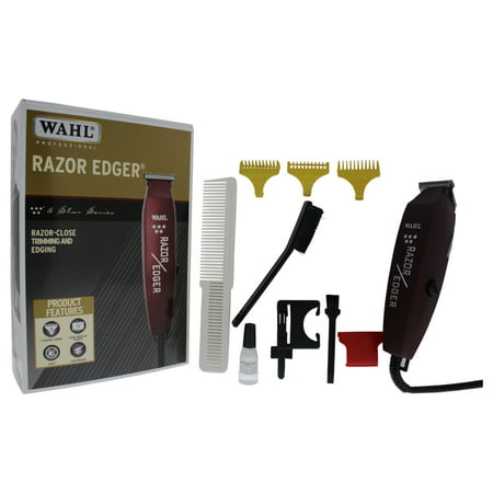 WAHL Professional 5 Star Razor Edger - Model # 8051 - Red - 1 Pc Kit Trimmer (Clippers Edgers)