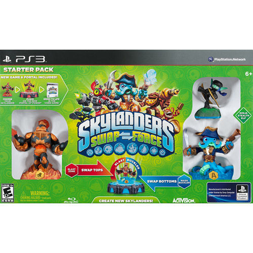 Skylanders Swap Force Starter Pack (PS3)