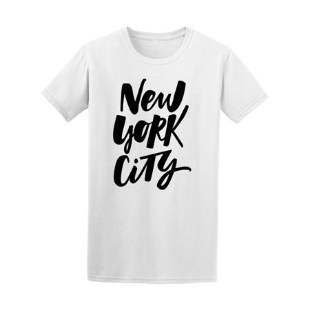 New York City Quote Usa America Tee Men's -Image by