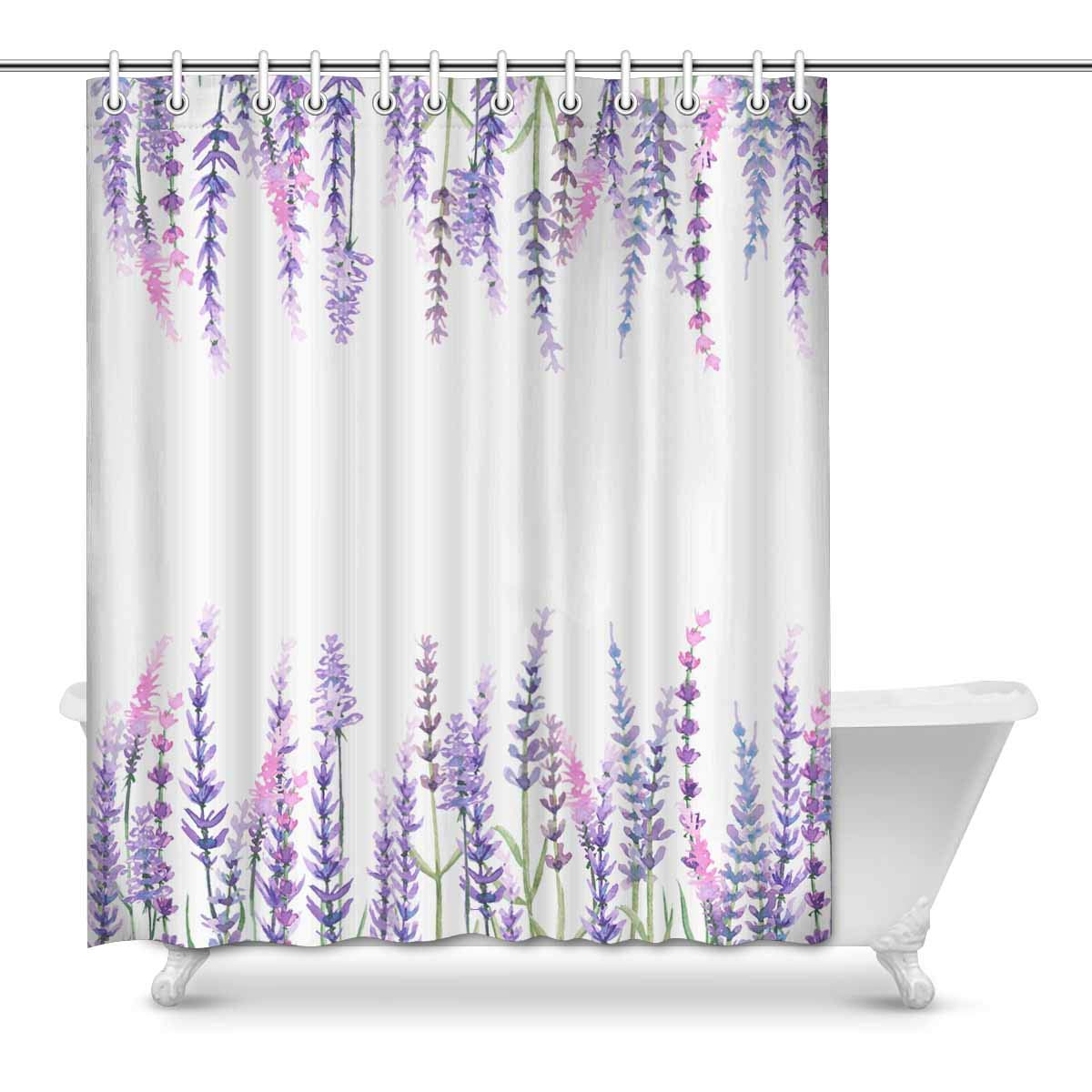 Yusdecor Watercolor Lavender Flowers