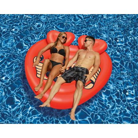 Swimline 90556 Giant Inflatable Heart Lover