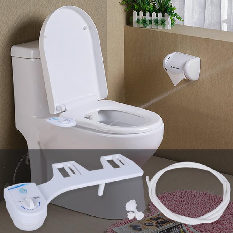 Homdox Bidet,Toilet Attachment Bidet Seat Sprayer Fresh Water by