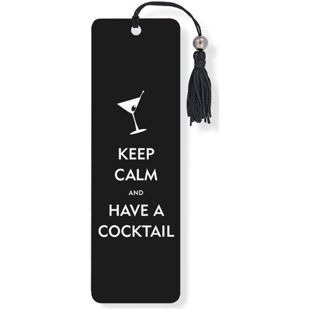 Keep Calm & Have a Cocktail Beaded Bookmark (Other)