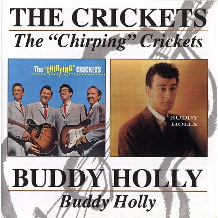 Buddy Holly   Buddy Holly Chirping Crickets  Cd