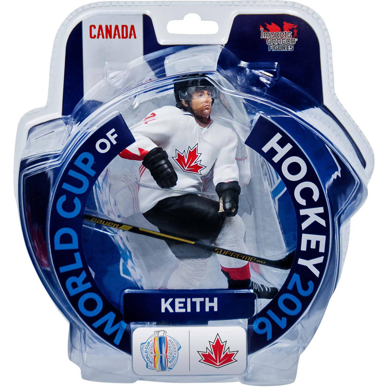 "Imports Dragon Figures ID808G 2016 World Cup of Hockey Team Canada Duncan Keith Figure, 6"" ID808G"