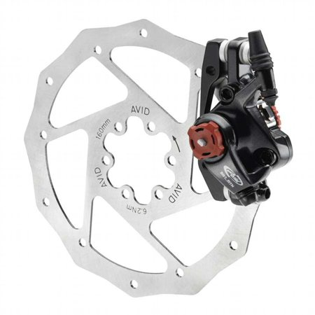 Avid Bb7 Mtb Mechanical Disc Brake Grey Front Or Rear No Rotor No Adapter - 00.5018.097.005