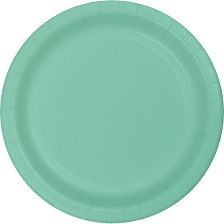 Package Dessert - Fresh Mint Dessert Plates (8ct), Includes 8 dessert plates per package By Creative Converting From USA