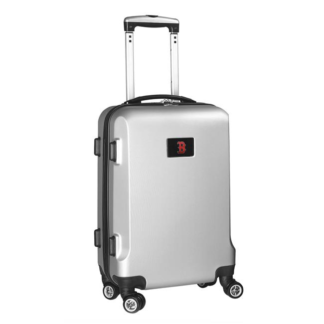 Denco Sports Luggage MLBOL204-SILVER 20 in. Boston Red Sox 8 Wheel ABS Plastic Hardsided Carry-On, Silver - image 1 de 1