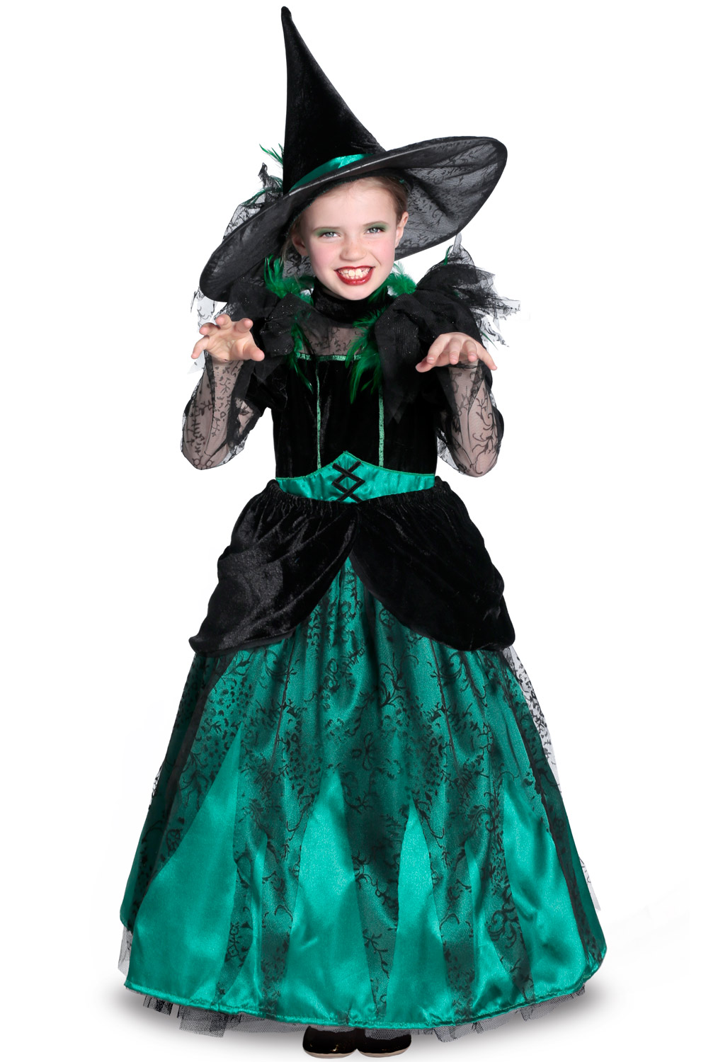 Wizard of Oz Deluxe Wicked Witch of the West Girls' Child ...