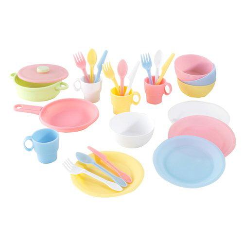 KidKraft 27-piece Kitchen Play Set, Pastel