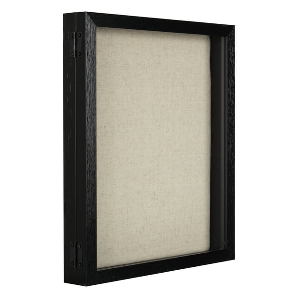 11x14 Black Shadow Box Picture Frame Display Walmart Com Walmart Com