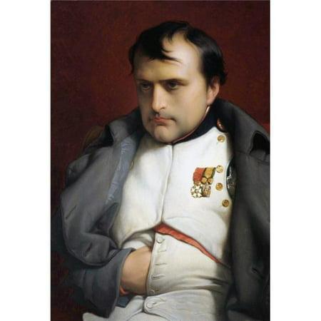 Design Pics DPI1959510 Napoleon I Napoleon Bonaparte Emperor of The French. 1769 - 1821 After The Work Napoleon in Fontainebleau by Hippolyte Delaroche Poster Print, 11 x 17 ()