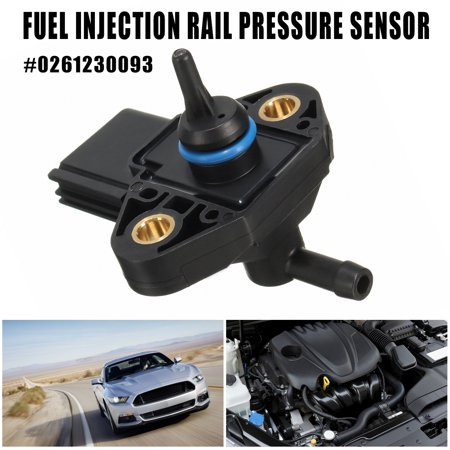 - Grtsunsea 4 Pin Black Car Fuel Injection Rail Pressure Sensor for Ford Lincoln Mercury #0261230093 3F2Z9G756AC 3F2E9G756AA