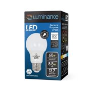 Luminance L7591-3 LED A19 Light Bulb with 60 Watt Replacement