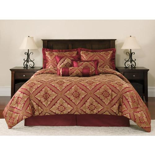 Mainstays 7 Piece Comforter Set, Santiago