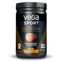 Vega Sport Pre Workout Energizer Powder, Strawberry Lemonade, 1.0 Lb