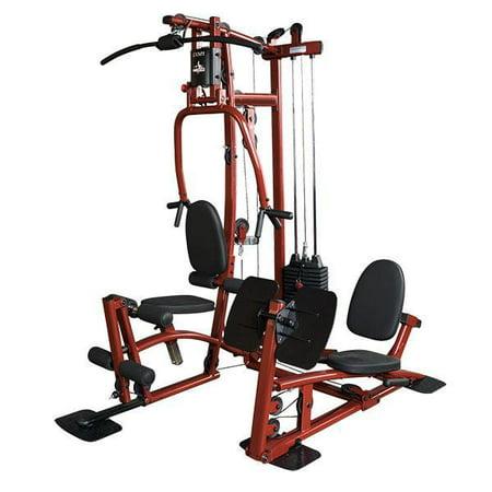 EXM1 Fitness Factory Home Gym with Leg Press (Horizontal Leg Press Vs 45 Degree Leg Press)