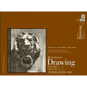 "Strathmore 400 Series Drawing Pad, Smooth Surface, 18"" x 24"", 24 Sheet Count"