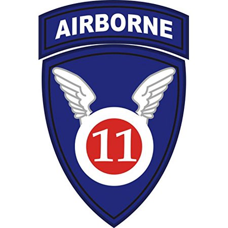 - MAGNET US Army 11th Airborne Division Patch Decal Magnetic Sticker 3.8