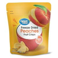 Great Value Freeze Dried Peach Crisp