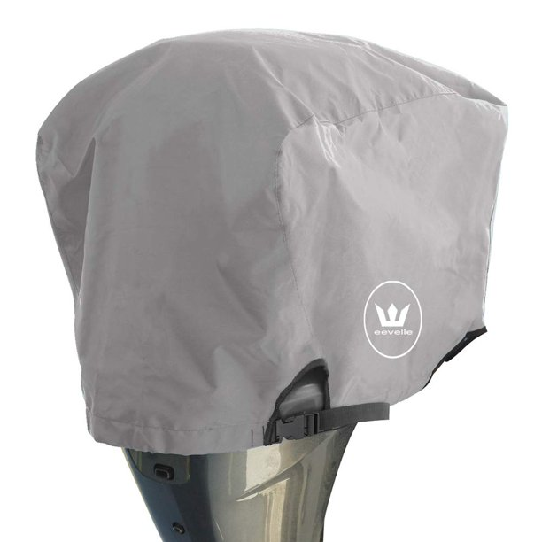 Windstorm Outboard Boat Motor Covers Heavy Duty 600D Polyester