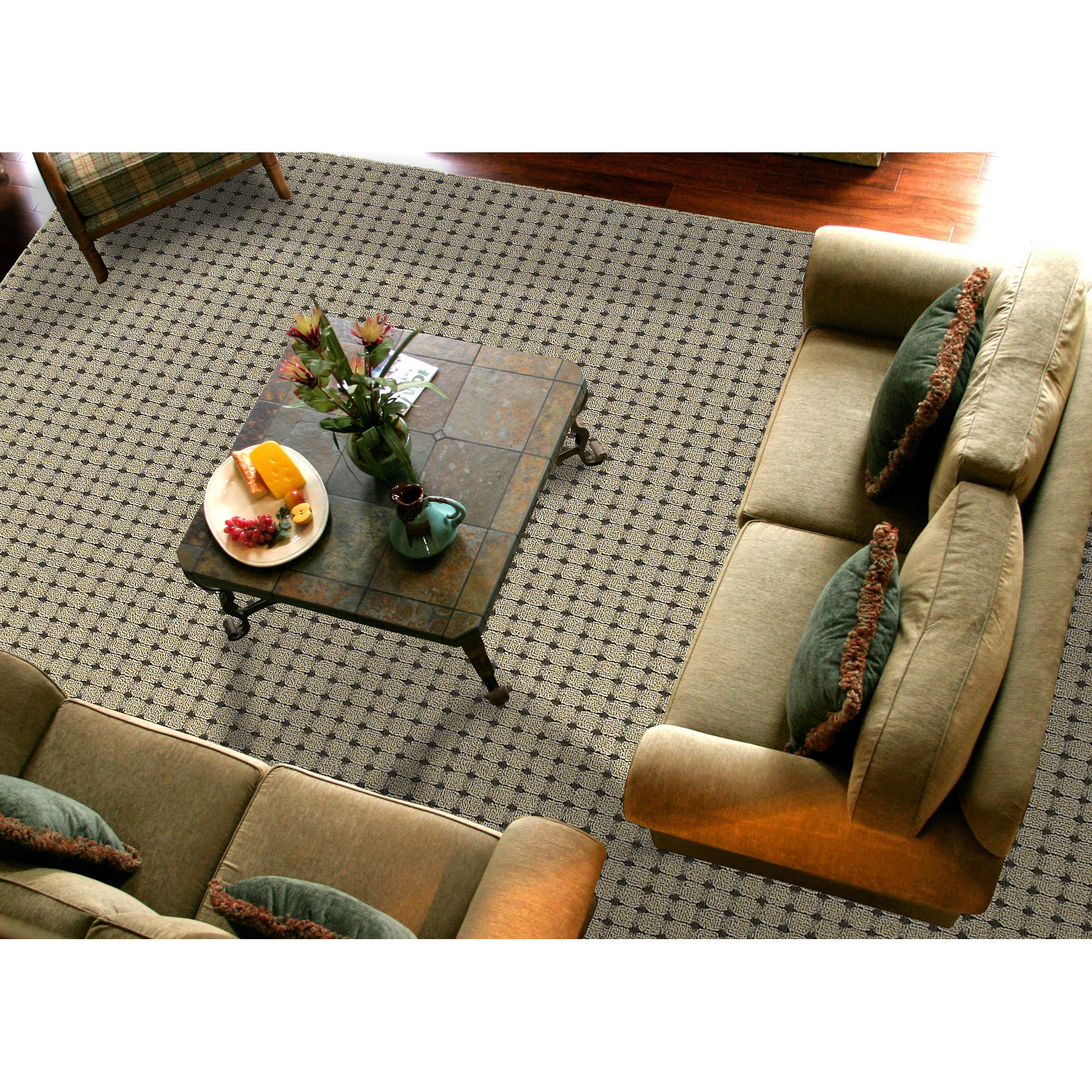 Garland Jackson Square Collection Area Rug