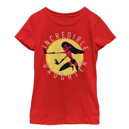 The Incredibles 2 Girls' Violet Incredible Daughter Circle T-Shirt](Violet The Incredibles)