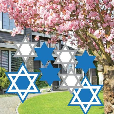 Hanukkah Decorations - Passover Decorations - Hanging Star of - Passover Decorations