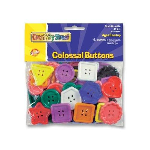 ChenilleKraft Extra Large Colossal Plastic Button CKC6090