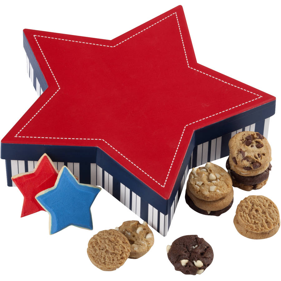 Mrs. Fields Star & Stripes Cookie Box Gift Set, 2 pc