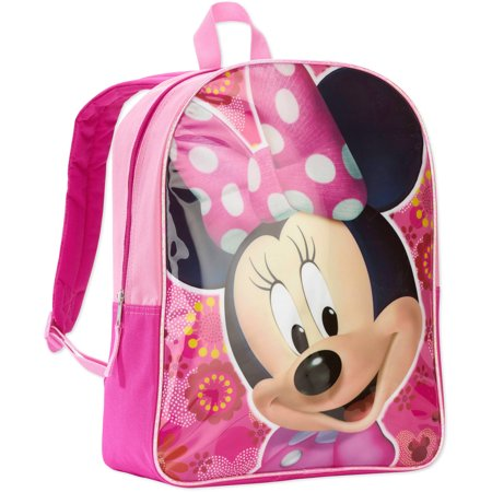 1dca282d7346 Minnie Mouse - Disney 15   Kids Backpack - Walmart.com