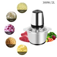 ZOKOP 2L Electric Meat Grinder Industrial Stainless Steel for make Hamburger,FDA Listed