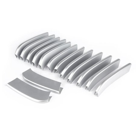 HURRISE 14PCS Car Front Grille Cover Trim Stickers Accessories For BMW X5 X6 F16 F15, Car Front Grille Trim,Car Front Grille Cover Trim - image 5 of 6