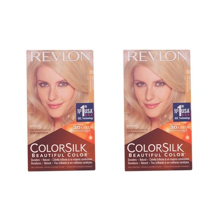 Revlon Colorsilk Beautiful Color, Medium Golden Chestnut Brown 46 1 ea (Pack of 2) + Cat Line Makeup - 50s Hair Tutorial