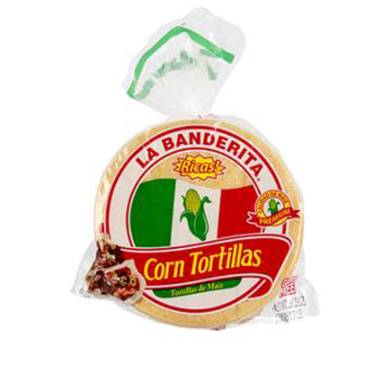 La Banderita Yellow Corn Tortillas 30Pk - 1 count only
