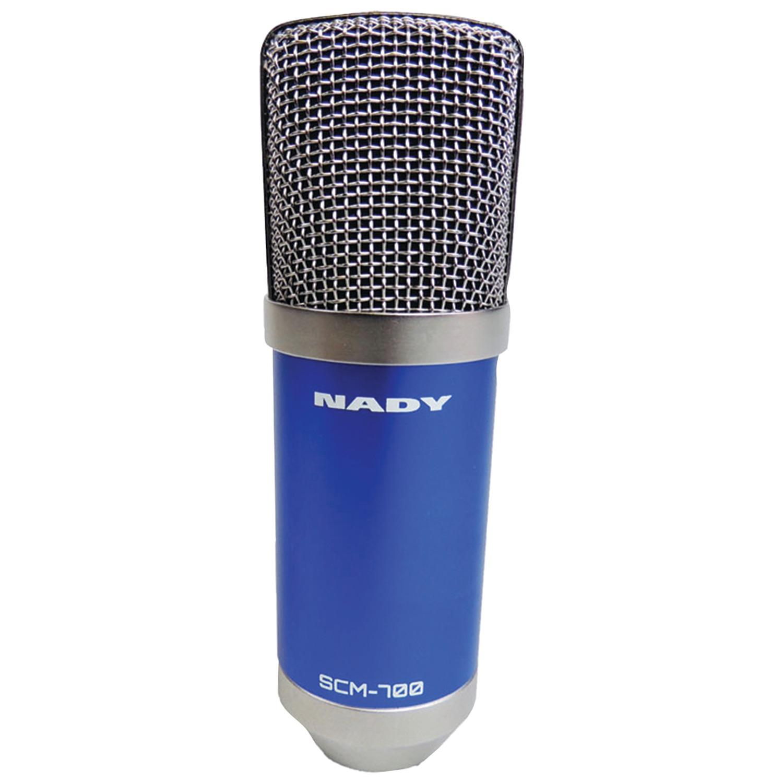 Nady SCM-700 SCM-700 Studio Condenser Microphone Podcasting Bundle