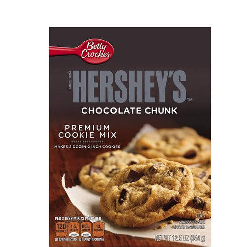 Betty Crocker? Hershey's? Chocolate Chunk Cookie Mix 12.5 oz. Box