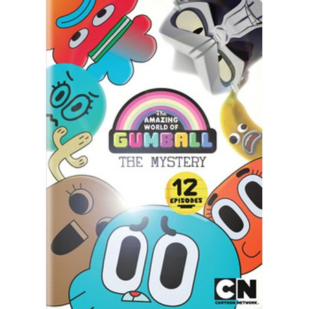 The Amazing World of Gumball: The Mystery (DVD) - The Amazing World Of Gumball The Skull