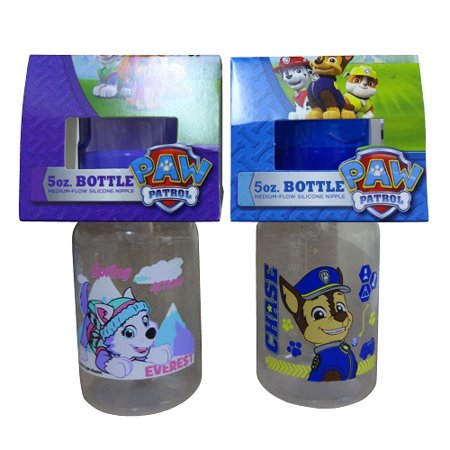 New 820201  Paw Patrol Baby Bottle 5Oz Asst (12-Pack) Accessories Cheap Wholesale Discount Bulk Baby Accessories Cube](Bulk Bottles)