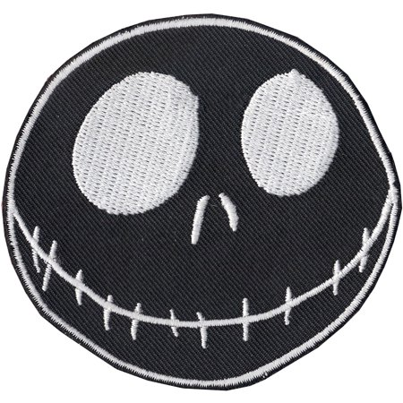 23bec82c08147 Nightmare Before Christmas Jack Skellington Disney Iron On Embroidered  Patch - image 1 of 1 ...