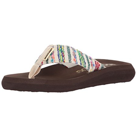Rocket Dog Women's SPOTLIGHT2 Merry Maker Fabric Sandal, Natural, 6 M - Fine Fabric Sandals