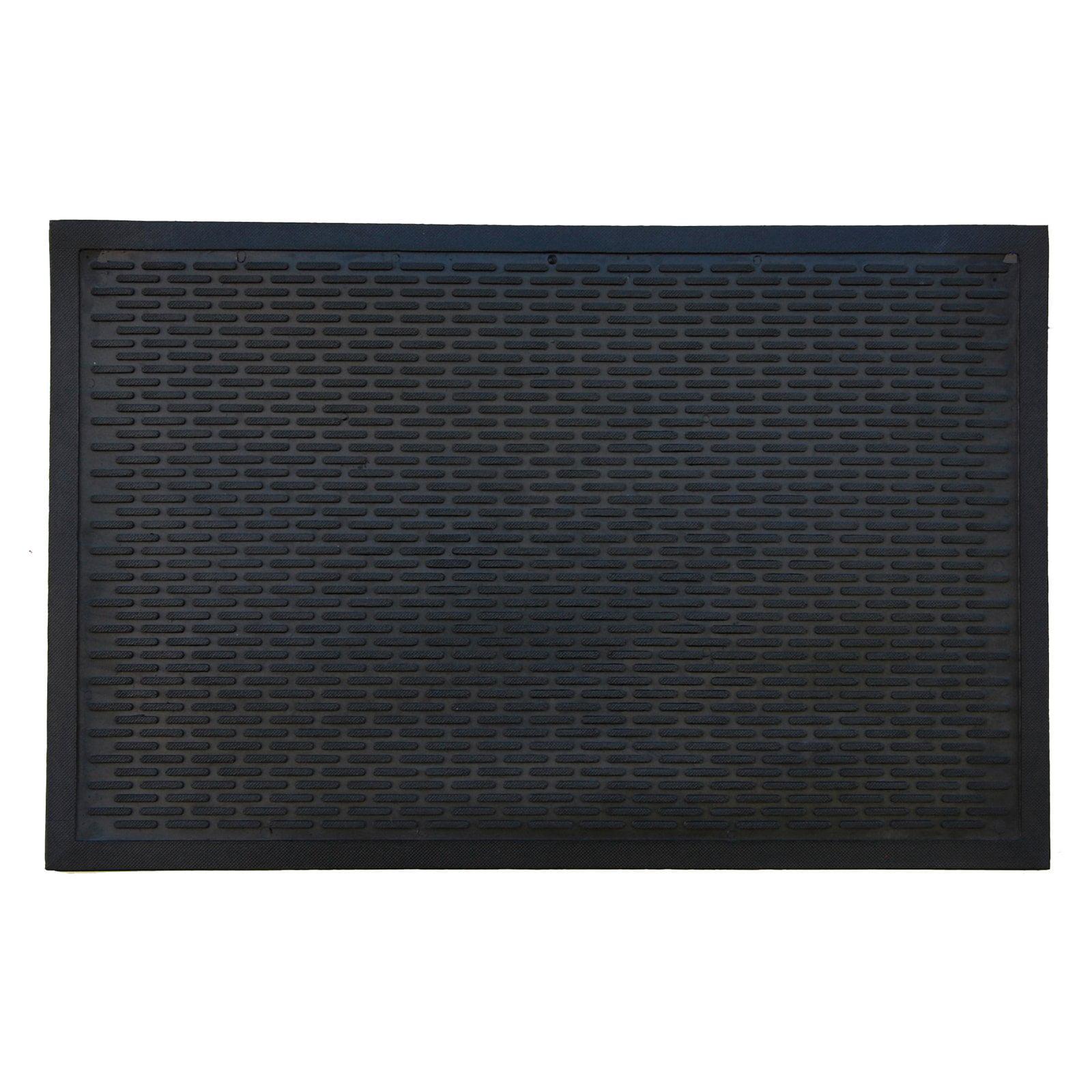 Home & More Rubber Ridge Scraper Doormat by Supplier Generic